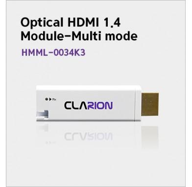 Optical HDMI extension module
